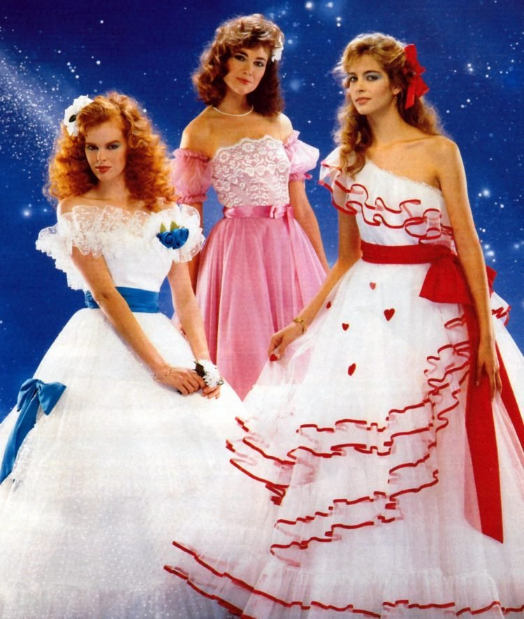 Prom dresses from 1984
