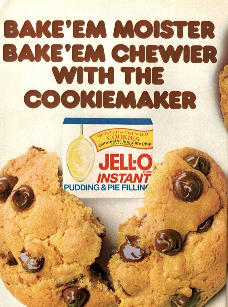 Pudding mix cookies - Classic recipes from 1982 (2)