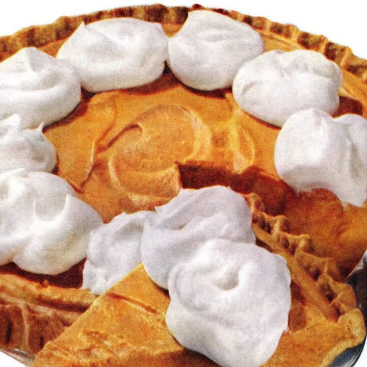 Pumpkin Dream Pie The '50s classic no-bake dessert recipe