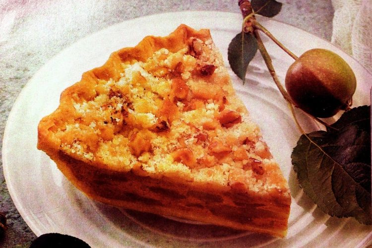 Pumpkin Dutch Apple pie recipe (1994)