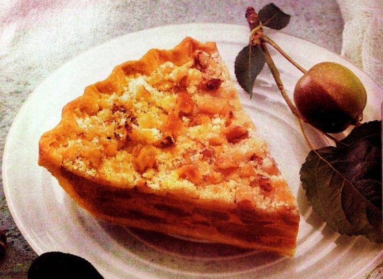 Pumpkin Dutch Apple pie recipe (1994)