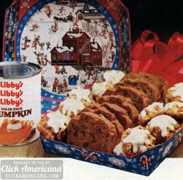 Pumpkin Spice Cookies & Pumpkin Nut Bread 1982