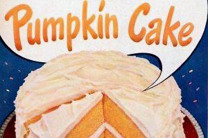 Pumpkin cake instead for Thanksgiving (1948)