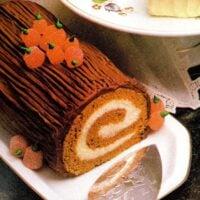 Pumpkin cake roll recipe (1984)