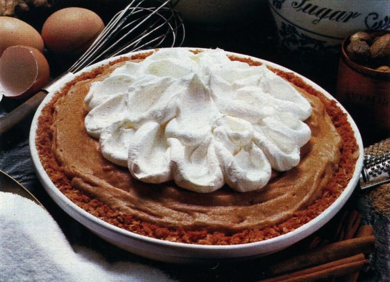 Pumpkin chiffon pie recipe 1979 (1)
