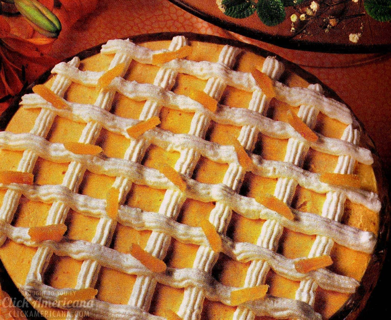 Pumpkin, rum, cream cheese and other good stuff team up to make this memorable velvet mousse (1977)