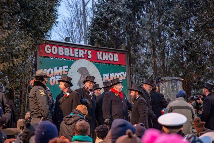 Punxsutawney Phil Groundhog Day - Gobbler's Knob