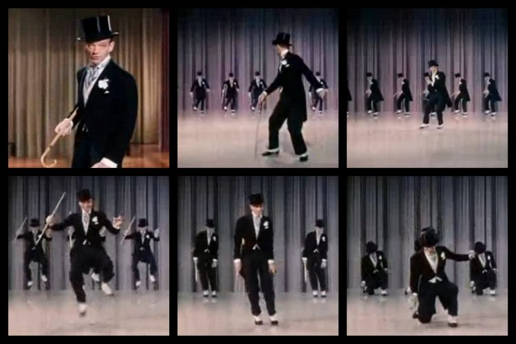 Puttin on the Ritz dance scene - Fred Astaire
