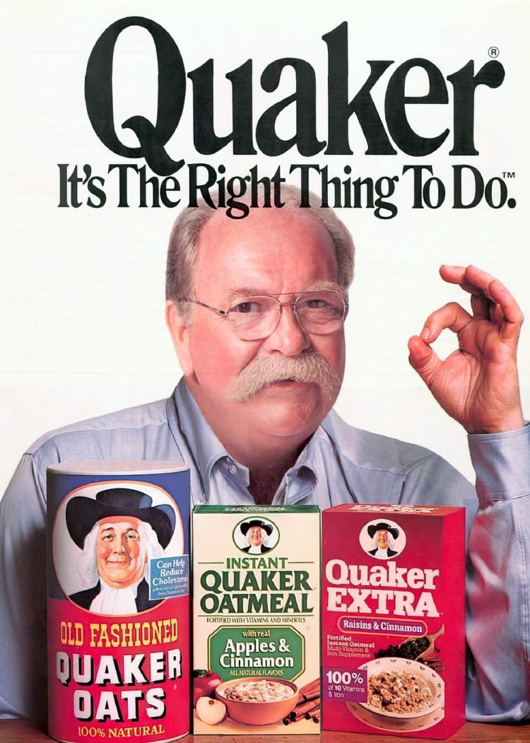Quaker Oatmeal with Wilford Brimley - 1990s