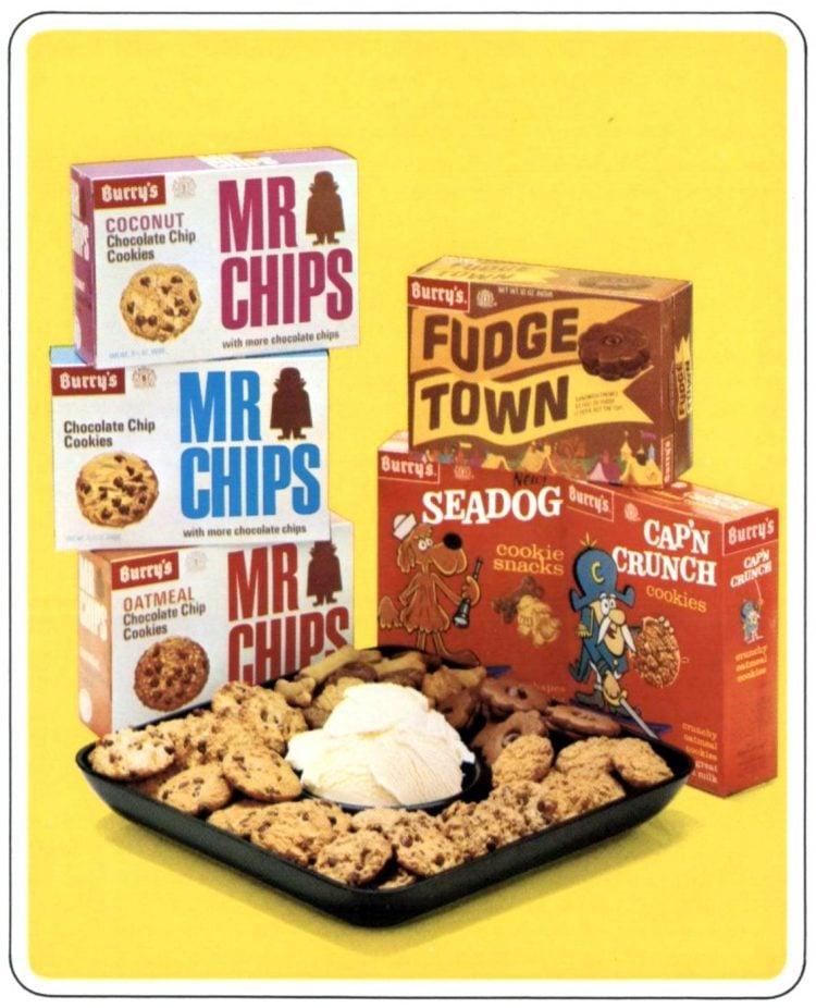 Quaker packaged cookies (1966)