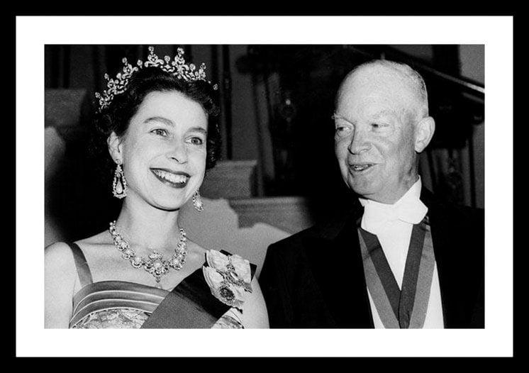 Queen Elizabeth sends Eisenhower her drop scones recipe (1960)