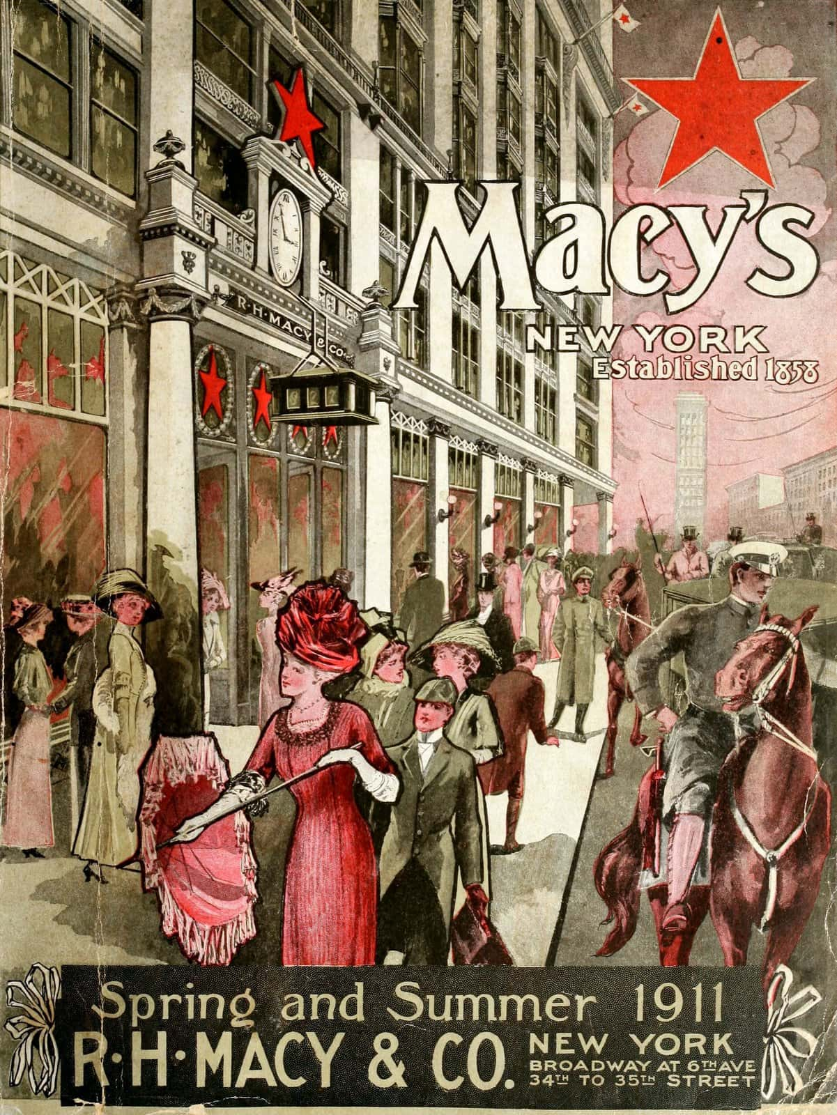 R H Macy and Co - New York (1911)