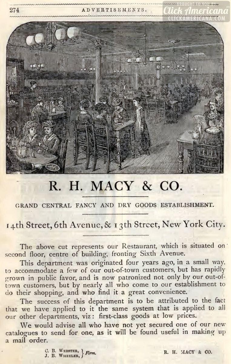 Macy's in NYC (1883)