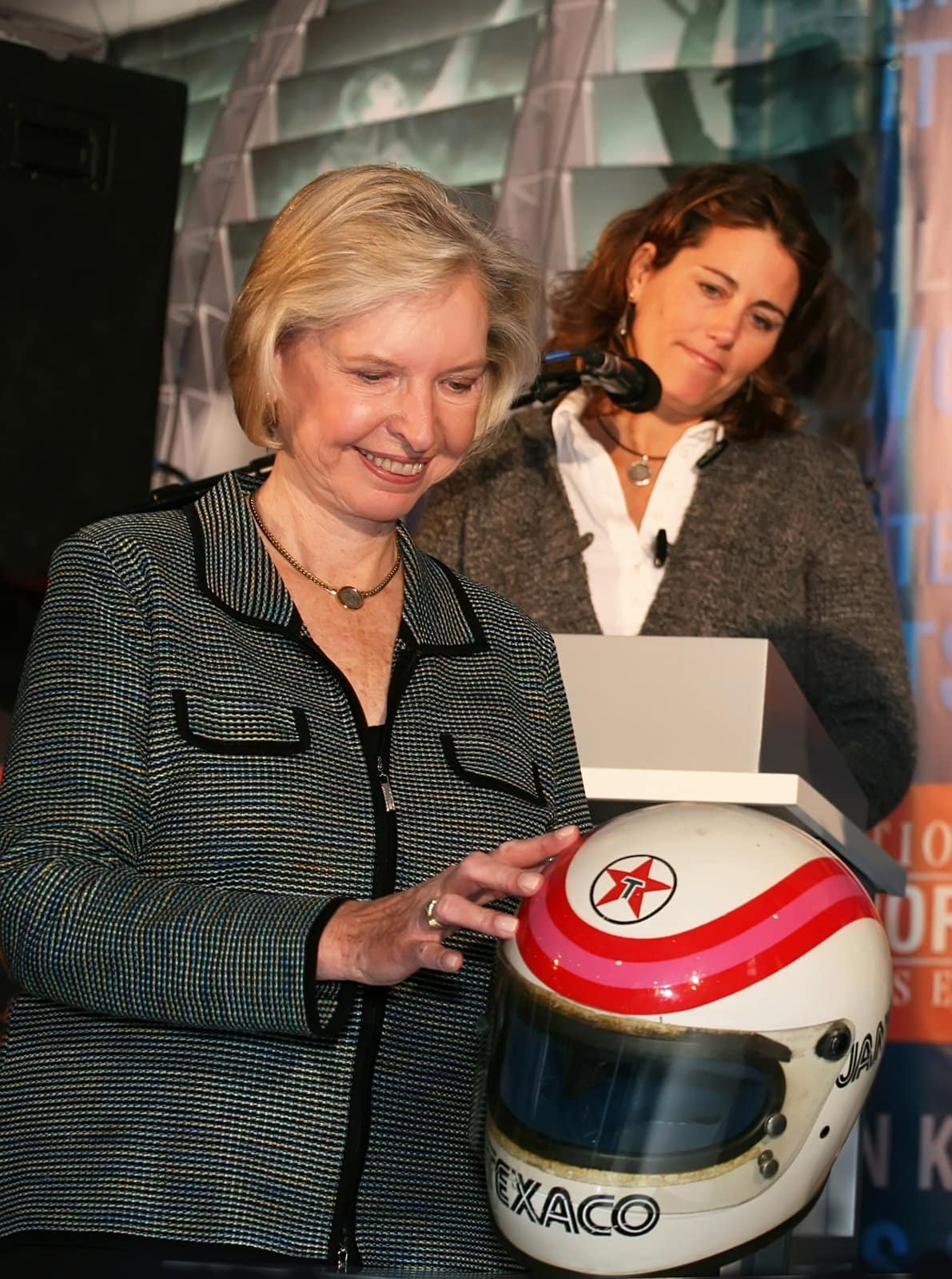 Race car driver Janet Guthrie photo by Laurence Agron | Dreamstime.com (2006)
