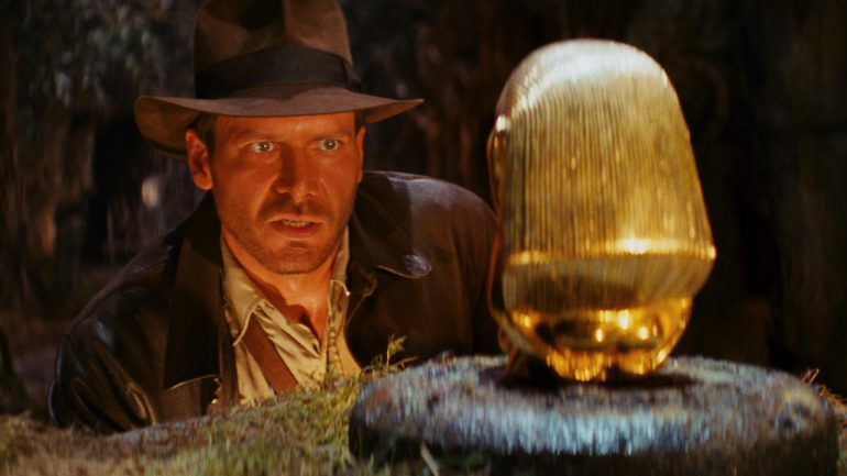 Raiders of the Lost Ark - Golden idol