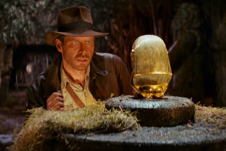 Raiders of the Lost Ark scene