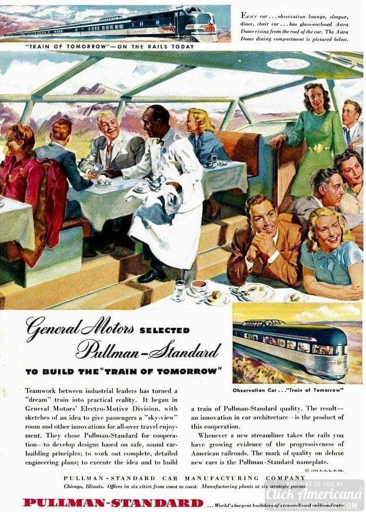 Railroad - 1947 Pullman Standard Train