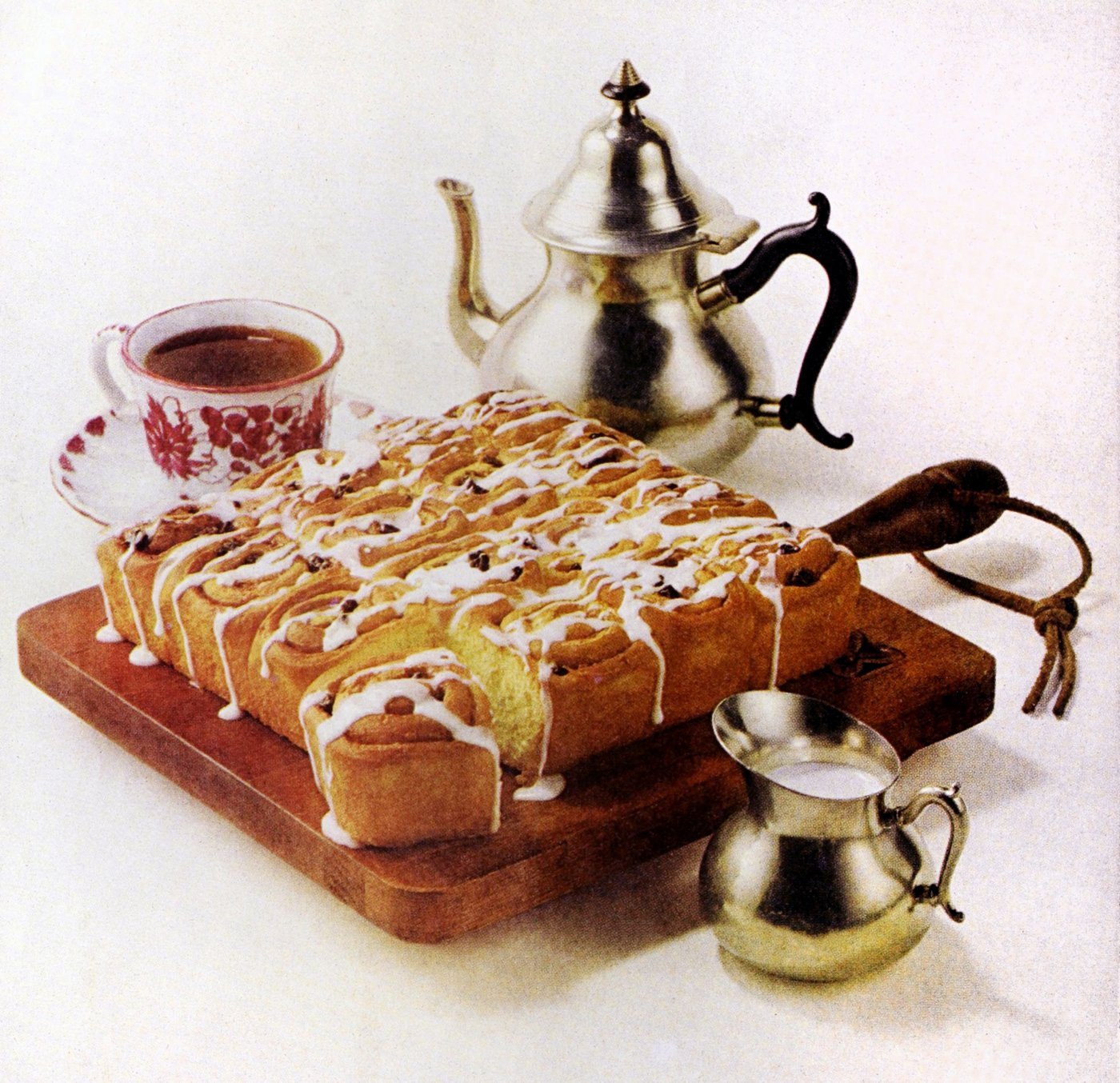 Raisin-cinnamon rolls - Vintage recipe