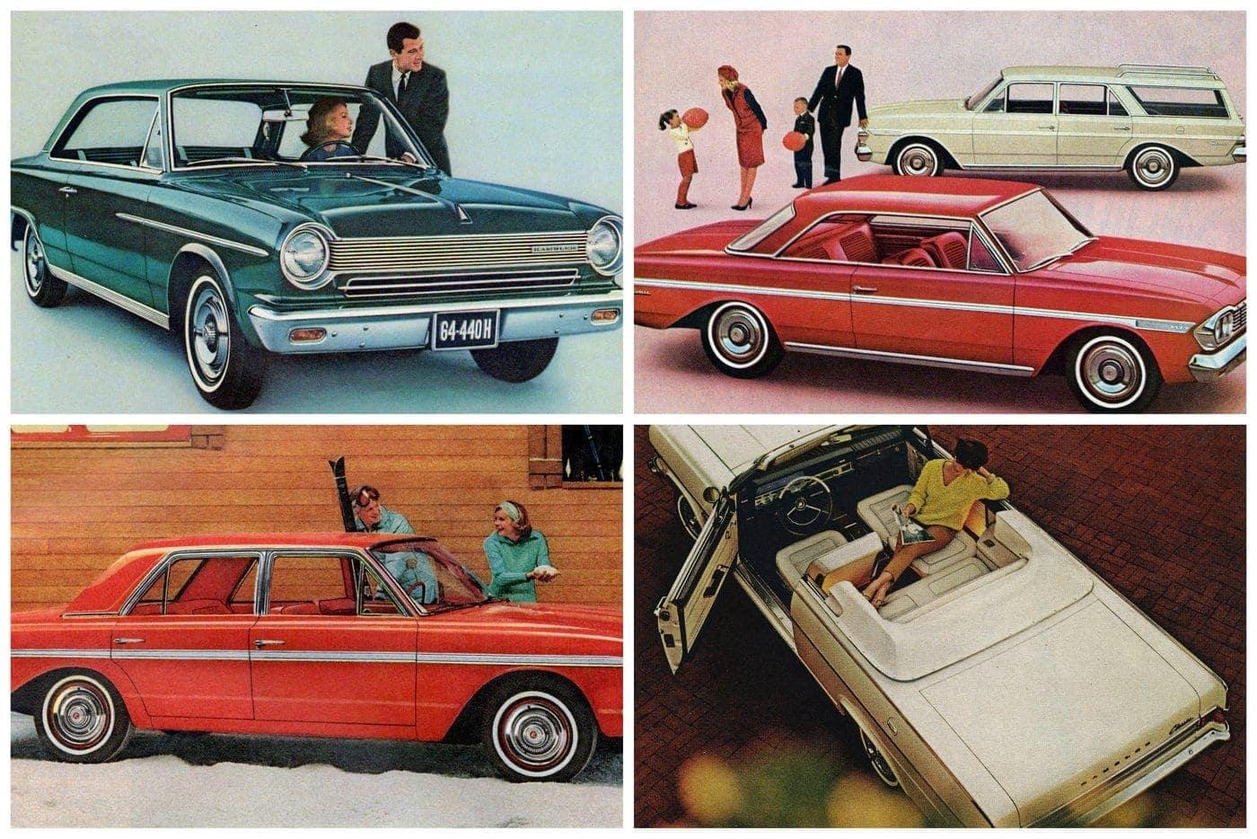 Rambler cars from the mid 60s the ambassadors classics
