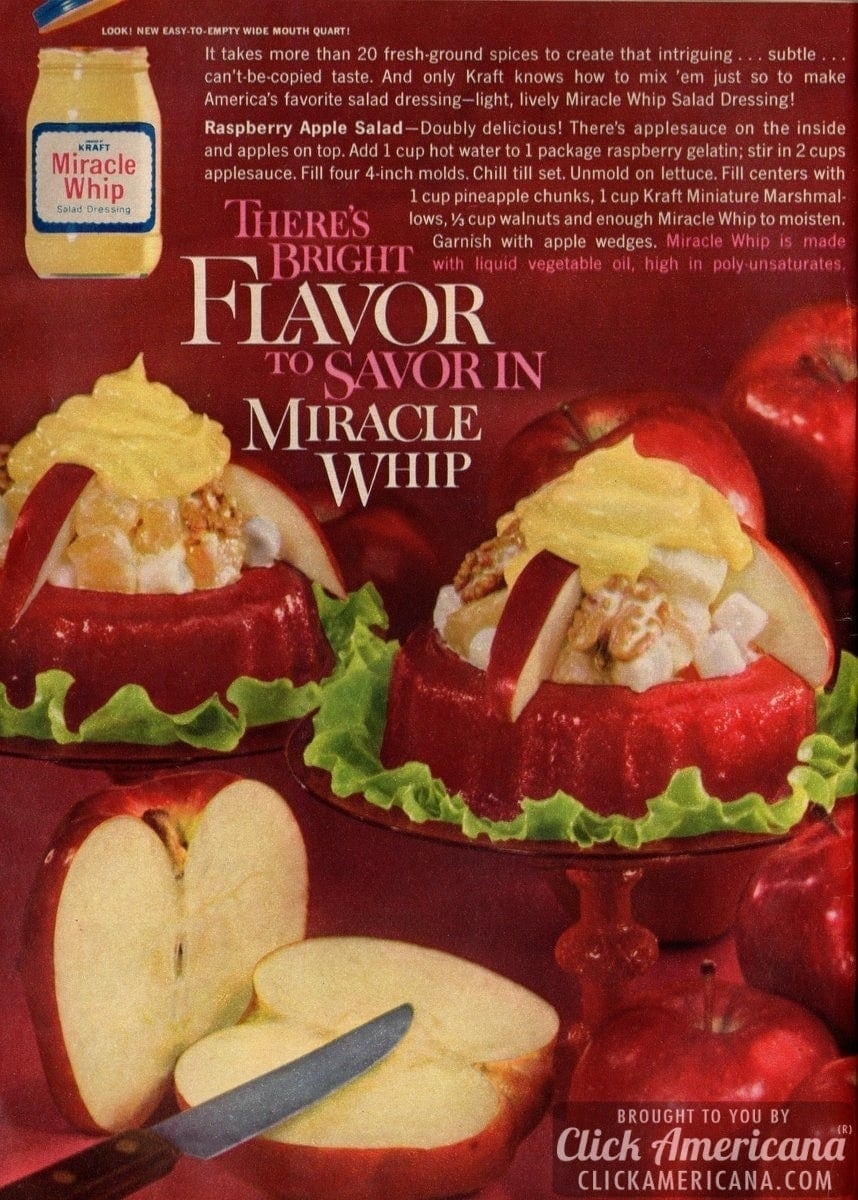 Raspberry Apple Salad (1962)