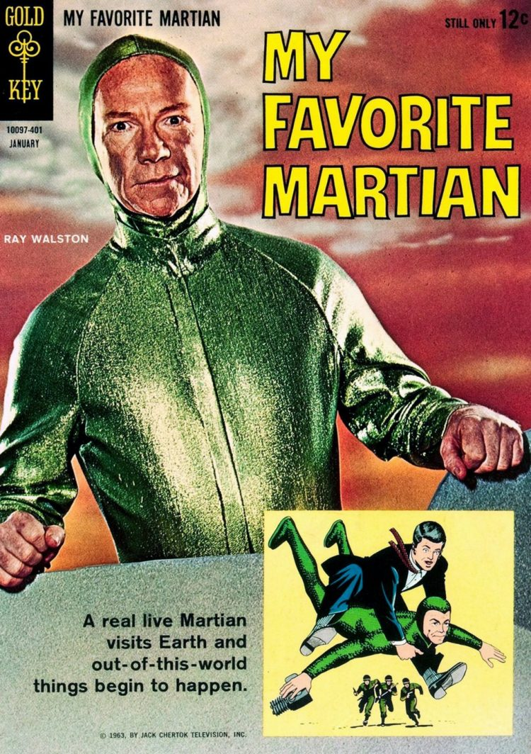 Ray Walston - My Favorite Martian book