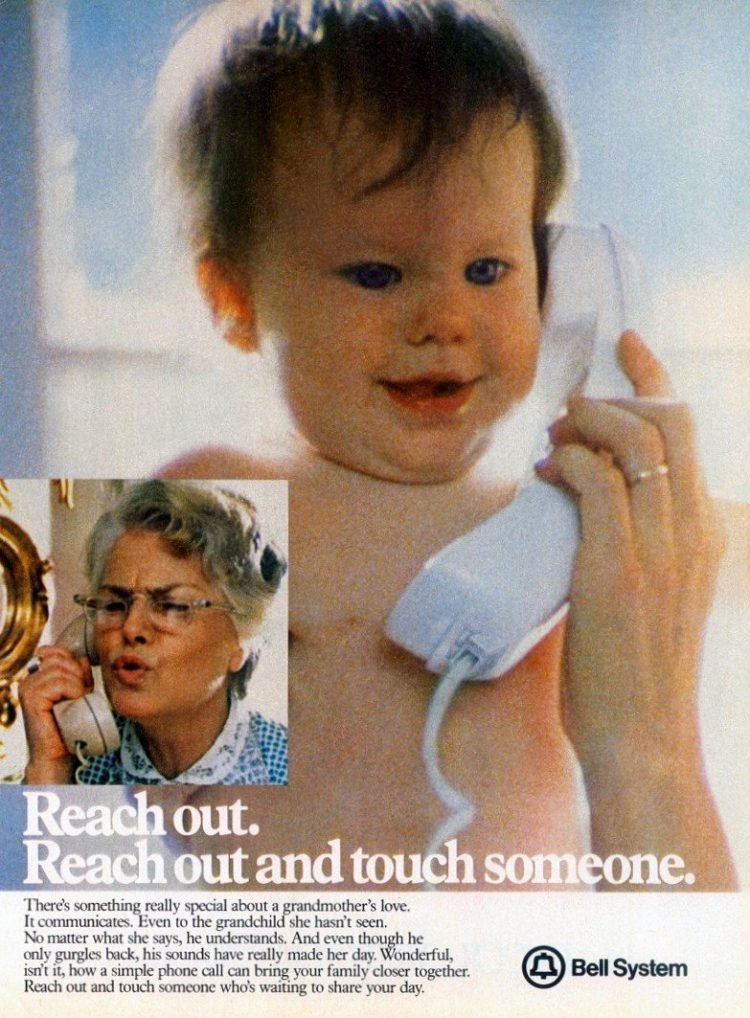 Reach out and touch someone: A grandmother's love (1981)