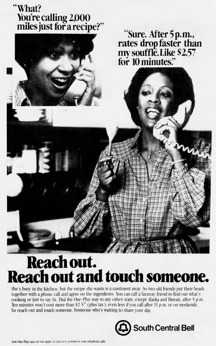 Reach out and touch someone - vintage ATT ads from 1979 (1)
