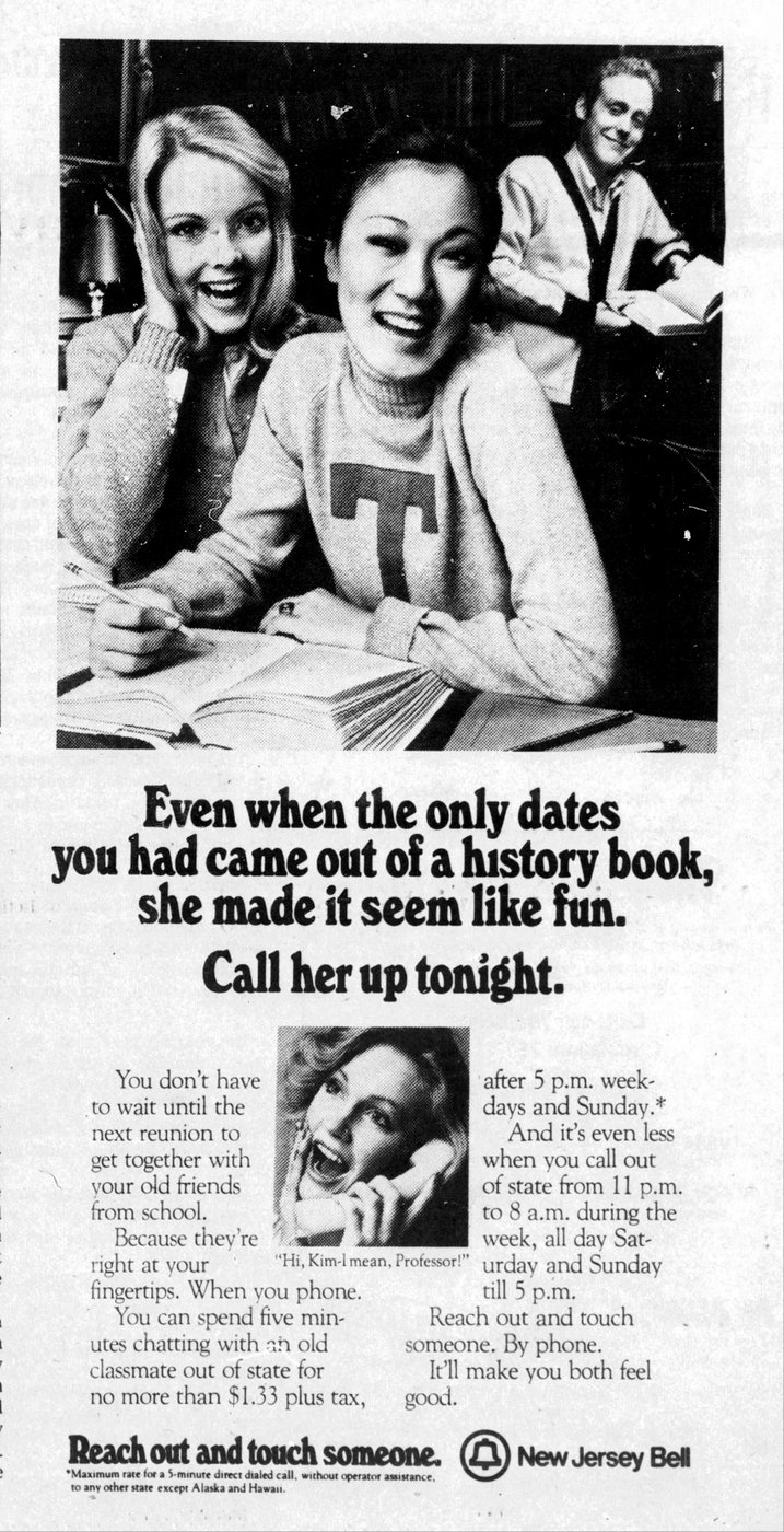 Reach out and touch someone - vintage ATT ads from 1979 (2)
