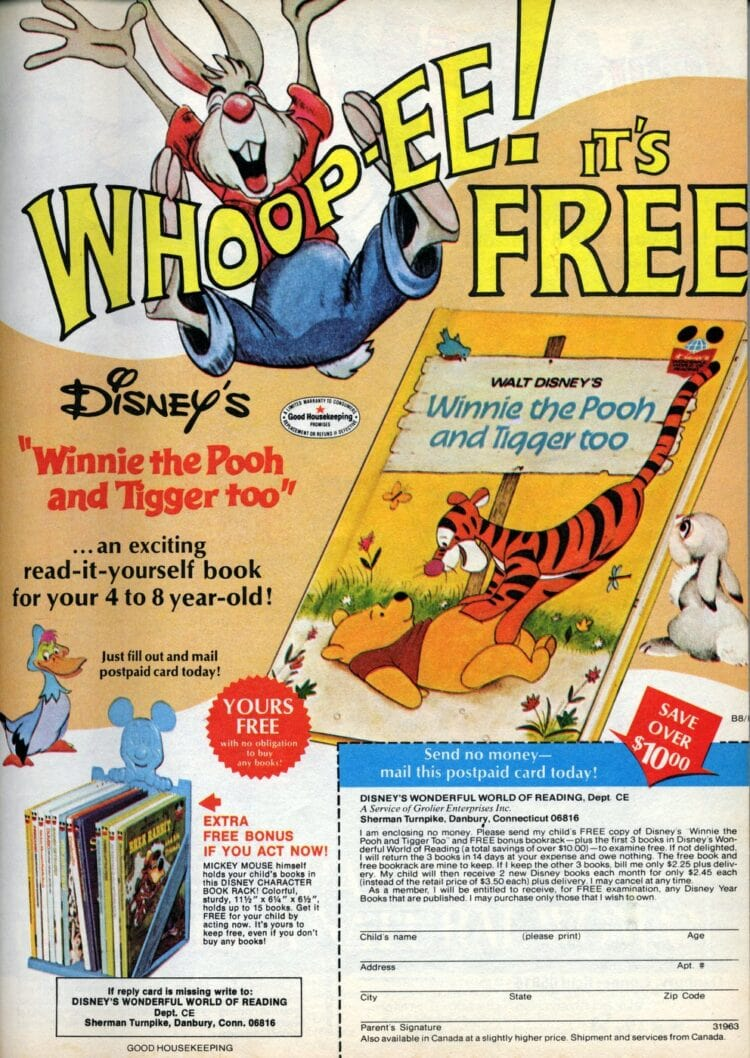 Read-it-yourself books from Disney (1978)