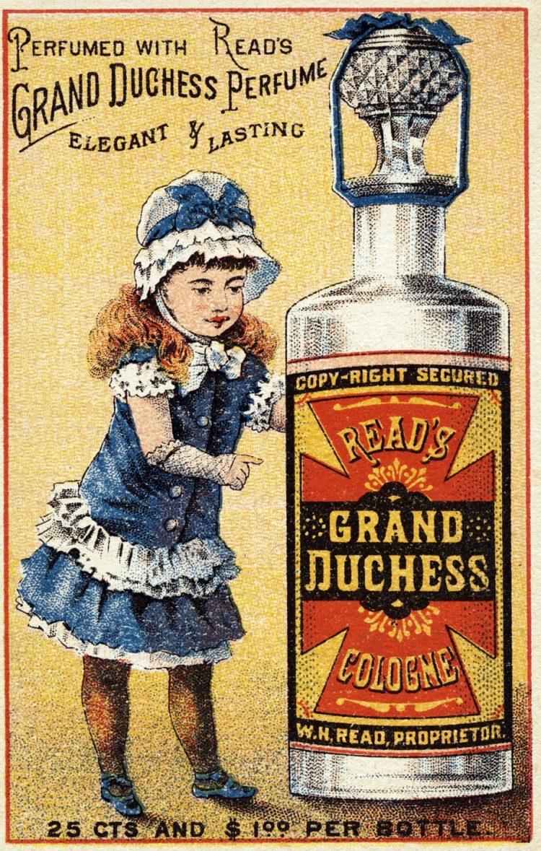 Read's Grand Duchess Perfume 1880s