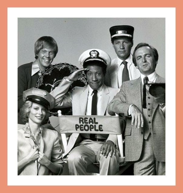 Real People TV show helped kick off the reality television trend (1979-1984)