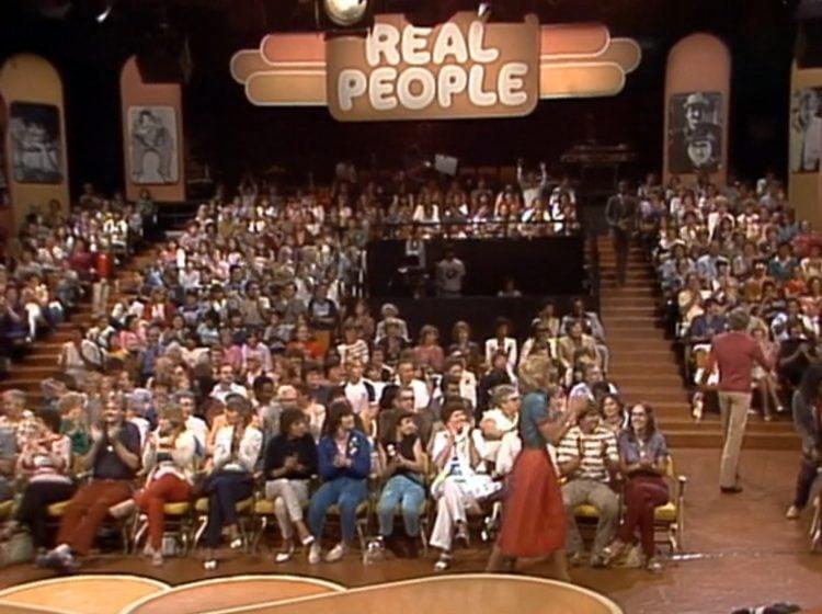 Real People live studio audience - 1980s