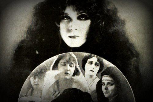 Real-life vampires, according to vintage actress - and vamp - Theda Bara