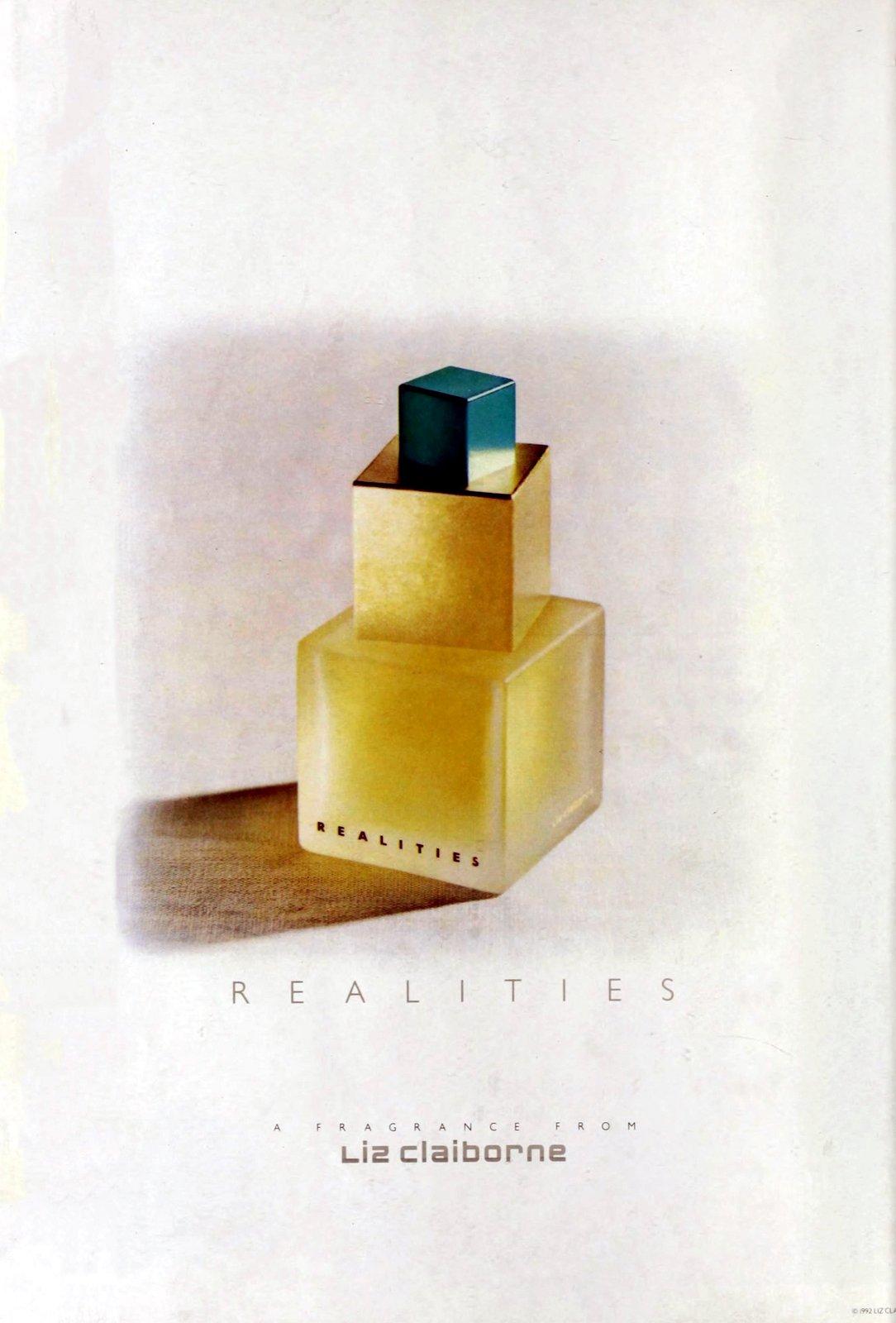 Realities vintage fragrance from Liz Claiborne (1993) at ClickAmericana.com