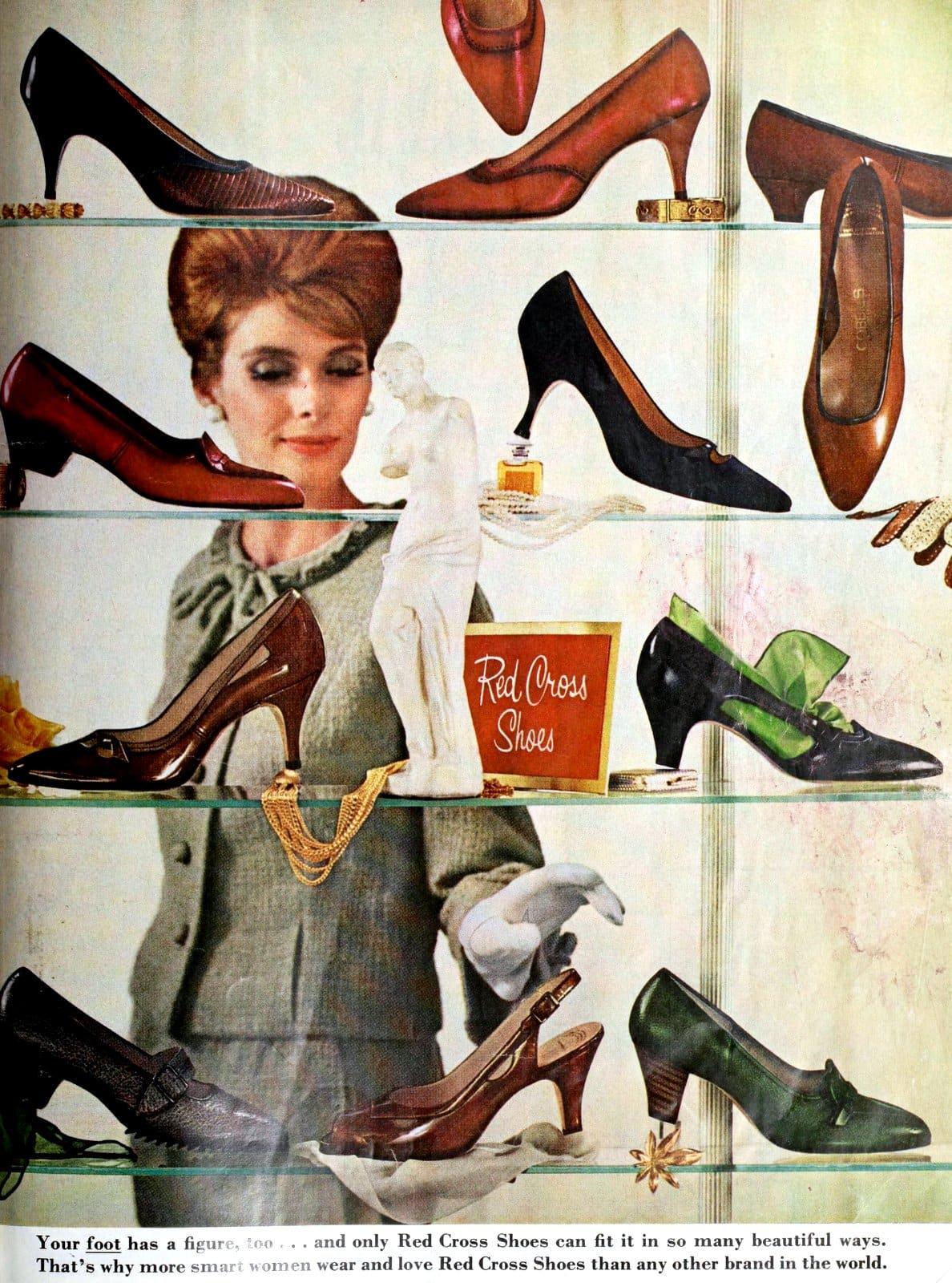 Red Cross Shoes - Footwear shopping in 1964