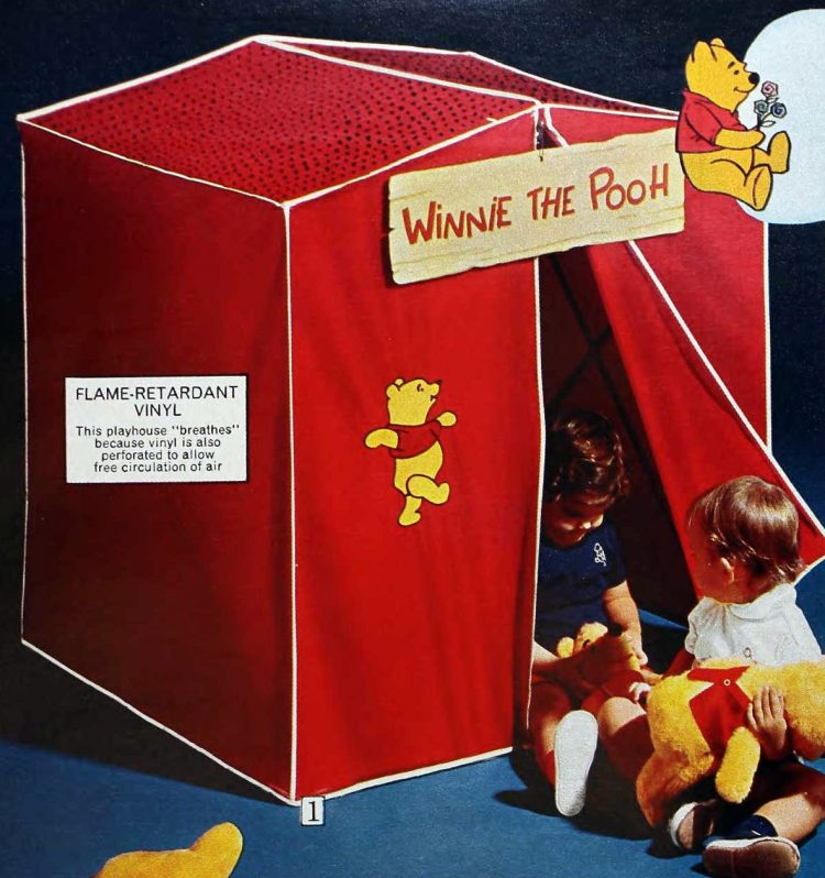 Red Winnie the Pooh tent (1973)