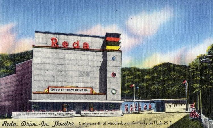 Reda Drive-Inn Theatre, Middlesboro, Kentucky
