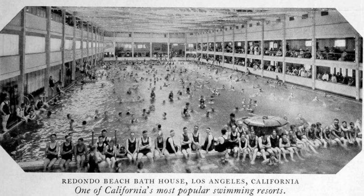 Redondo Beach Bath House, California (c1910)