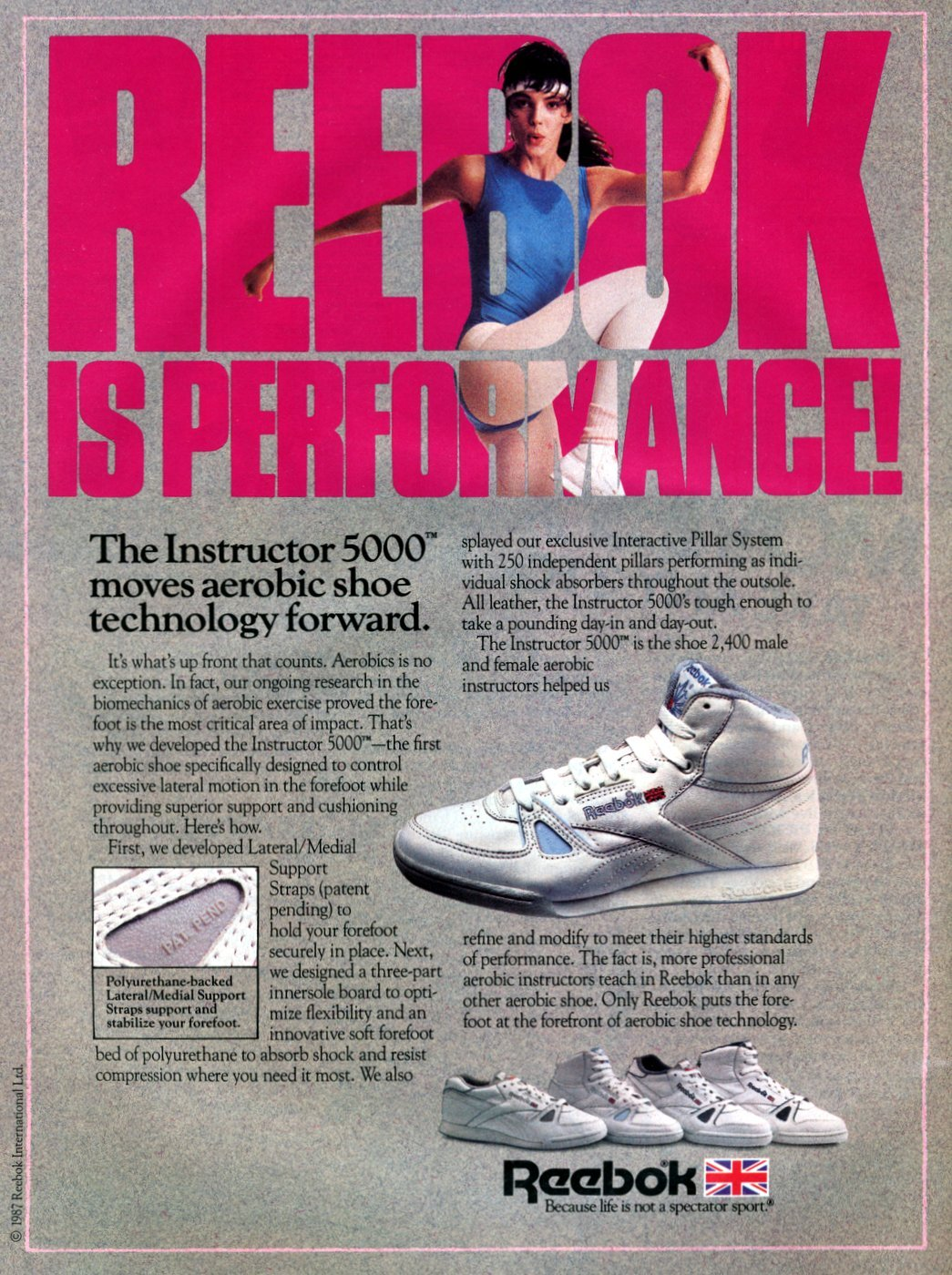 Reebok workout shoes - sneakers from 1987