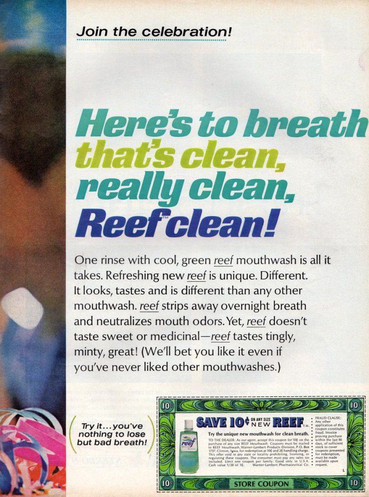 Reef The vintage 60s mouthwash (1)