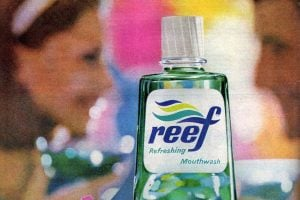 Reef The vintage '60s mouthwash with a terrible name