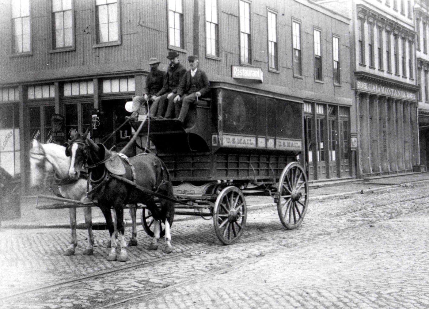 Regulation Mail Wagon San Francisco 1895