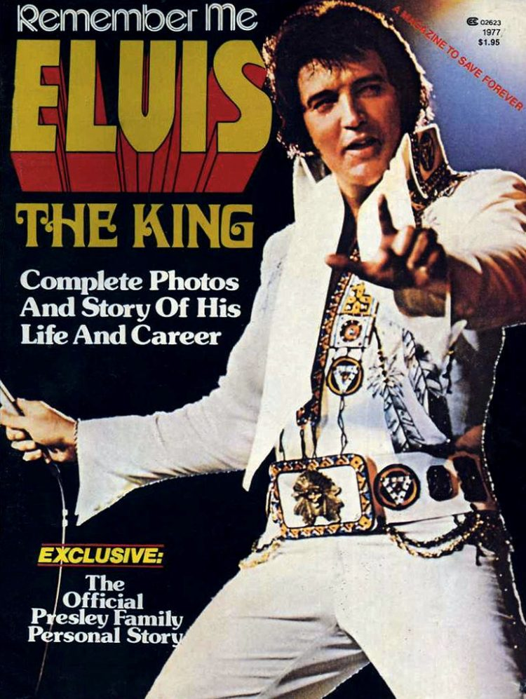 Remember Me Elvis The King magazine cover 1977