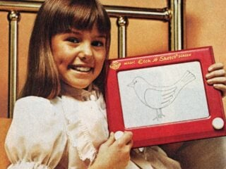 Remember these Etch-A-Sketch and other vintage toys from Ohio Arts