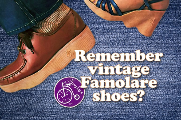 Remember vintage Famolare shoes at Click Americana
