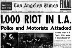 Remembering the Watts Riots Look back at the first reports from the scene (1965)