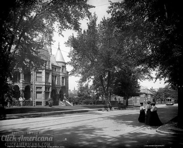 Residence and Detroit Athletic Club, Detroit, Mich. c1905