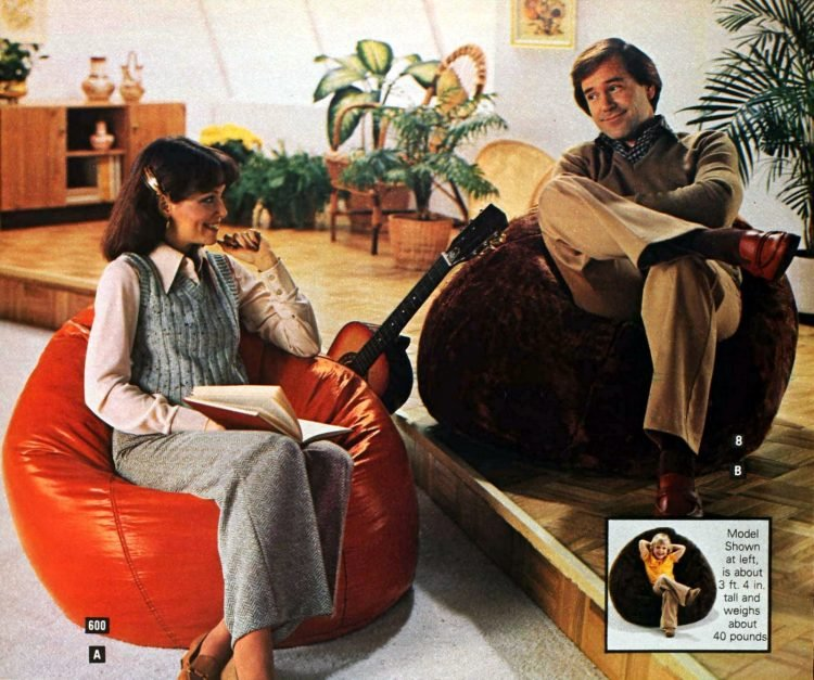 Reto '70s bean bags for adults (2)