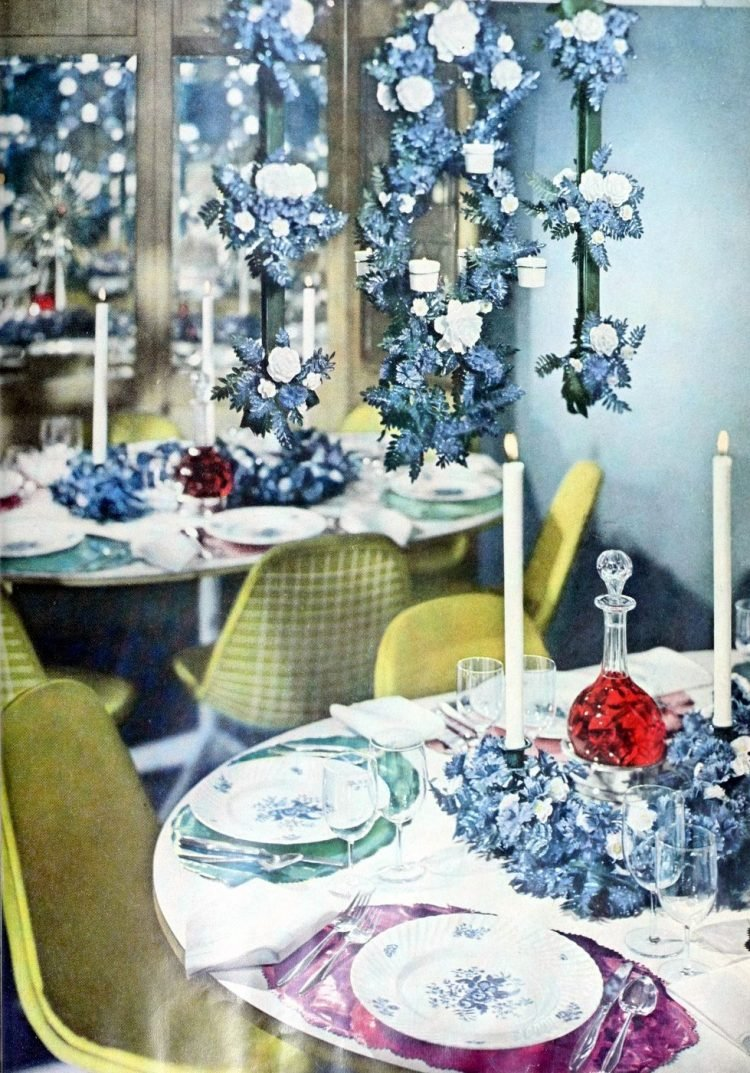 Retro 1950s inspiration for setting the table (6)
