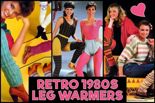 Retro 1980s leg warmers